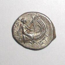 Ancient Greek, Euboia, Histiaea. 196-146 BC. AR Tetrobol. Histiaea, Galley
