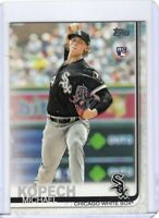 2019 TOPPS BASEBALL ROOKIE CARD # 49 - MICHAEL KOPECH - CHICAGO WHITE SOX