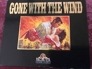 VHS - GONE WITH THE WIND twin pack in box