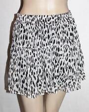 factorie Designer Black White Katie Frill Skirt Size S BNWT #SF110