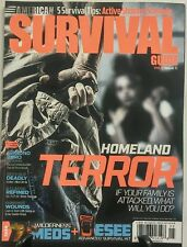 American Survival Guide May June 2016 Homeland Terror Gunshot FREE SHIPPING sb