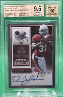 2015 CONTENDERS PLAYOFF TICKET DAVID JOHNSON RC #/199 🔥 BGS 9.5 AUTO 10 🔥