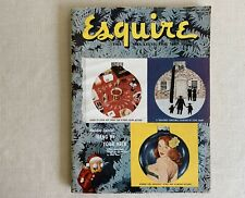 ESQUIRE Magazine Vintage December 1918 Holiday Cover