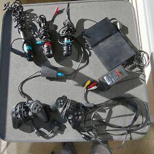 Sony PlayStation2 mit 2Controllern und drei Mikrofonen, siehe Fotos, guter Zusta