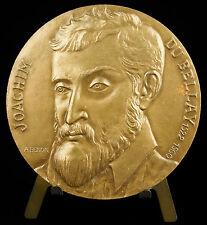 Medaille  Les Regrets au Poète Joachim Du Bellay la Pléiade sc A Benon medal