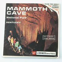 Vintage View-Master Reel Set Packet A846 MAMMOTH CAVE National Park, Kentucky