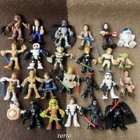 Lots 2.5'' Playskool Star Wars Galactic Heroes Last Jedi Force -Your Choice Toys