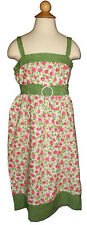 New MY VINTAGE BABY Size 8 Garden Party ROSES Summer SUNDRESS RRP$100+