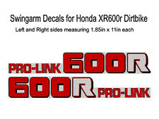 Swingarm Decals for Honda XR600r dirtbike - XR600 XR 600 600R