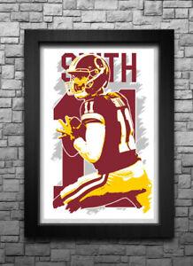 Alex Smith Washington Redskins Therma Long Sleeve Jersey
