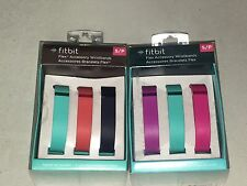 Fitbit Flex Accessory Replacement Wristband 6 Pack Size Small S New