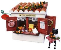 Billy 8721 Handmade Dollhouse Cottage Kit Muffin Shop From Japan with Tracking