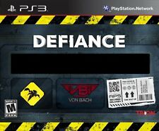 PS3 Defiance (Sony PlayStation 3, 2013) Limited Collector's Edition NEW & SEALED