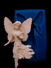 Fairy, Silicone Angel Mold Chocolate Polymer Clay Soap Candle Wax Resin