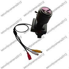 HD Sony effio-e 700TVL 2.8-12mm Manual ZOOM Focal lens A/V Security CCTV camera