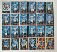 2018/19 Match Attax EPL Soccer Cards - Manchester City Team Set inc 2 Limited