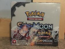Pokemon Sun & and Moon Burning Shadows Booster box of 36 packs factory sealed