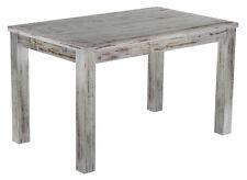 Landhaus Esstisch Holz Pinie massiv Tisch 130x80cm shabby / Eiche antik kolonial