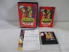 Mega-Drive Genesis -- 2020 Super Baseball -- Box. JAPAN Game Sega. 14016