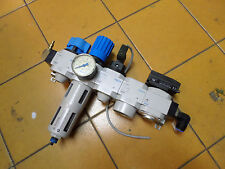 FESTO AIR SERVICE UNIT - LOCK-OUT - REGULATOR - PRESSURE SWITCH and MORE!!