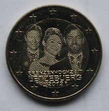 LUXEMBOURG - 2 € Euro commemorative coin 2012 - Royal Wedding