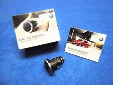Genuine BMW 5 series USB Charger NEW Adapter Lighter e39 e60 e61 F10 F11 2166411