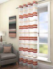 Polyester Striped Modern Curtains & Pelmets