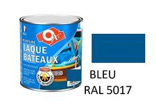 PEINTURE BLEU 5017 LAQUE SPECIAL BATEAU PARTIE HORS D' EAU HAUTE RESISTANCE 0.5L