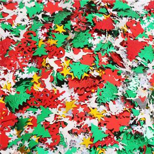 Confetti Balloon Filling Decoration Small Sequin Christmas Tree Paper Decoration