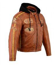 Blouson Daytona En Cuir Moto Homme, Vintage, Cafe Racer, Lederjacke , Rocker