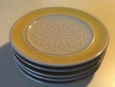 """5 Vintage Mid Century El Dorado Franciscan Earthenware Bread Butter Plate 6.75"""""""