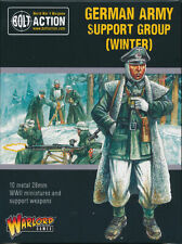 Warlord Games German Army Support Group (Winter) Metal Singles