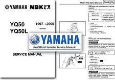 Yamaha AEROX Scooter YQ50 Service Manual 1997 to 2006 Workshop Shop YQ50L Aero X