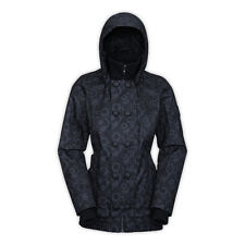 Women's North Face Black Insulated Blossom Jacket M New $329