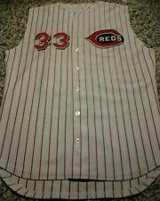 Goodman & Sons Cincinnati Reds Game Model Jersey Size 46 #33 pristine rare