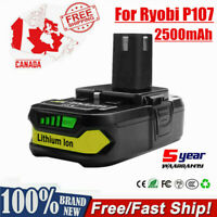 2500mAh 18V Rechargeable Li-Ion Battery For Ryobi One+ P108 P107 P106 Power Tool