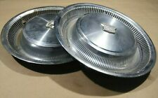 SET OF 2 1973-1978 CADILLAC FLEETWOOD ELDORADO DEVILLE HUBCAP WHEEL COVER COVERS