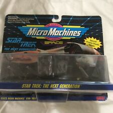 Micro Machines Space Star Trek The Next Generation Galoob Collection #4 NIP
