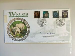 1999 Wales - First Pictorial Issue - Builth Wells - Signed Michael German