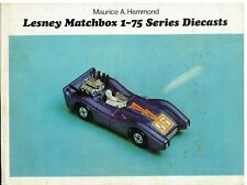 MATCHBOX 1-75 SERIES (REGULAR & SUPERFAST WHEELS) 1953-72 MODEL RANGE BOOK