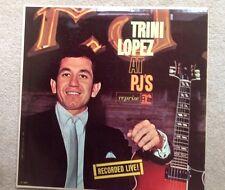 Trini Lopez At PJ's Recorded Live LP Record
