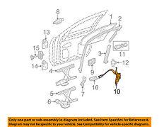 GM OEM Front Door-Lock Latch Kit 10395381