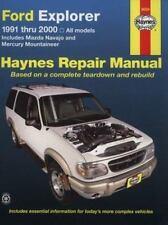 Ford Explorer & Mazda Navajo'91'00 (Haynes Repair Manual)-ExLibrary