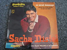Sacha Distel-Scoubidou 7 PS-4 Tracks-1959 France-Jazz-POP-1 re Serie-432.349 BE