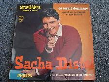 Sacha Distel-Scoubidou 7 PS-4 Tracks-1959 France-Jazz-POP-1 re Serie-432.349 BE