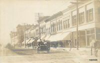 C-1906 FAIRBAULT MINNESOTA Street Scene RPPC real Photo postcard 5227