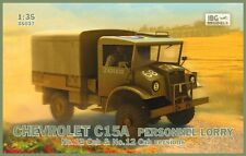 CHEVROLET C15A No.13 & No.12 CAB (CANADIAN BUILT BRITISH ARMY TRUCK) 1/35 IBG