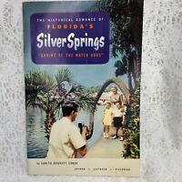 1960s Silver Springs Florida Souvenir Scenes Book Color Photos Mint Condition