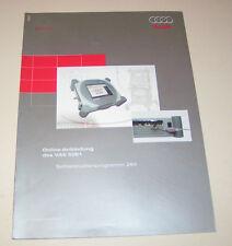 Audi - Online Anbindung des Diagnosesystems VAS 5051 - SSP 294 -  Stand 2002!