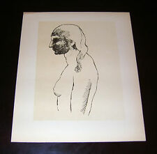 "Picasso 1926 litho ""Olga"" (Waldemar George - dessins Picasso) Ducros&Colas Paris"